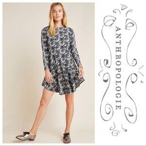NWT Hutch Jeanie Embroidered Plaid Tunic